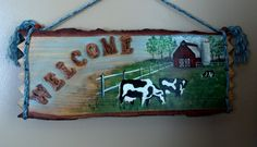 Rustic Dairy Farm Sign Made to Order by CorteseCreations on Etsy
