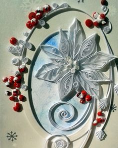 Quilling Seasons: card (card)