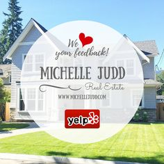 Please take a moment to share your experience working with us! Your testimonies help us grow and strengthen as a team. Thank you in advance, we look forward to reading your reviews!  #yelp #yelpreviews #testimonies #clienttestimonies #realestate #realtor #realty #MichelleJudd #MichelleJuddRealEstate #success #blessed #buyers #sellers