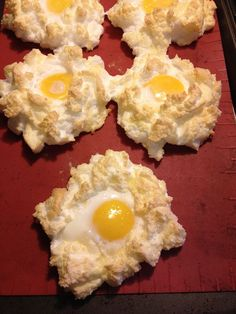 LCHF Breakfast recipe: Egg Puffs
