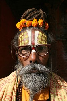 Intellectual Sadhu by Fugunumbmouth on Flickr.