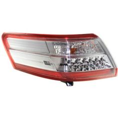 2010-2011 Toyota Camry Tail Lamp LH,Outer,Assembly,Usa Built,Hybrid Model-Capa