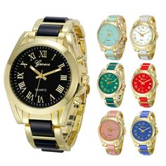 $4.59 (Buy here: https://alitems.com/g/1e8d114494ebda23ff8b16525dc3e8/?i=5&ulp=https%3A%2F%2Fwww.aliexpress.com%2Fitem%2FLuxury-Dress-Clock-For-Women-Women-Geneva-Roman-Numeral-Gold-Plated-Metal-Alloy-Link-Quartz-Watch%2F32716022566.html ) Luxury Dress Clock For Women Women Geneva Roman Numeral Gold Plated Metal Alloy Link Quartz Watch Relogio Feminino Best Gift for just $4.59