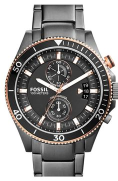 Fossil+'Wakefield'+Chronograph+Bracelet+Watch,+45mm+available+at+#Nordstrom