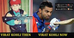Virat Kohli – Then & Now Virat Kohli Cricket Trolls​ #Cricket #INDvsPAK #WT20 http://www.crickettrolls.com/2016/02/08/virat-kohli-then-now/