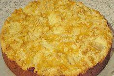 Marzipan - Apfelkuchen mit Streuseln (Rezept mit Bild) | Chefkoch.de