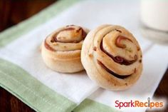 YUMMY! Homemade Turkey Bacon Breakfast Rolls | via @SparkPeople #recipe #food #brunch
