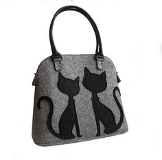 Hey, I found this really awesome Etsy listing at https://www.etsy.com/listing/266626276/cat-lover-bag-felted-cat-bag-cat-tote