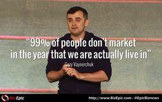 Gary Vaynerchuk quote on marketing tactics and strategy