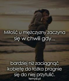 Więc szaleje z miłości Romantic Quotes, Love Quotes, Quotes About Love And Relationships, All You Need Is Love, Love Words, Couple Goals, Humor, Love Story, Quotations