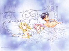 Family Love by Naoko Takeuchi - Sleeping