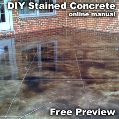 Butterfield Color Offers A Line Of Water Based Concrete