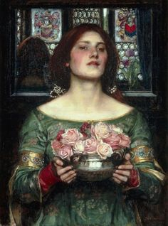 Gather Ye Rosebuds - John William Waterhouse