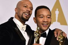 """Common & John Legend win Oscar for """"Glory""""for Best Original Song from the movie """"Selma""""- Academy Awards 2015"""