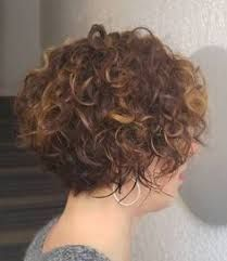 Image result for super short curly bob side view