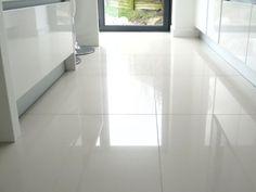 Kitchen floor tile patterns kitchen floor tile patterns off white porcelain floor tiles white kitchen flooring Living Room Tiles, Large Floor Tiles, Cleaning Tile Floors, White Kitchen Floor, White Porcelain Tile, Flooring, White Tile Floor, Porcelain Flooring, Shiny Tile Floors