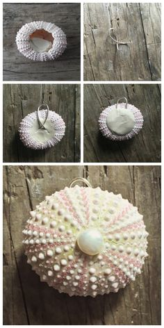 How to make a sea urchin pendant!