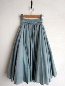 他の写真1: ohta plant dyeing skirt 染めギャザースカート