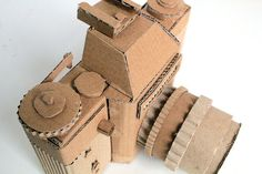 Cardboard Camera: Zenit-e RESERVED for Mardhiyah by OupasDesign