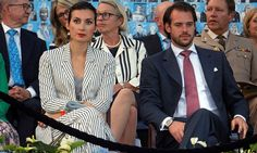 Claire caught the attention of royal fashion fans at the 2016 Luxembourg National Day celebrations.
