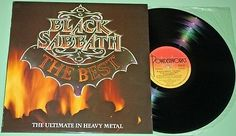 Black Sabbath - The Best - 1983 Australian Vinyl LP