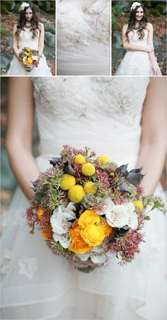 pop of yellow bouquet