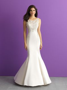 Bridal Gown Available at Ella Park Bridal | Newburgh, IN | 812.853.1800 | Allure Romance - Style 3007