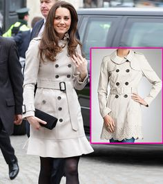 Get Kate Middleton's Style: Trench Coat