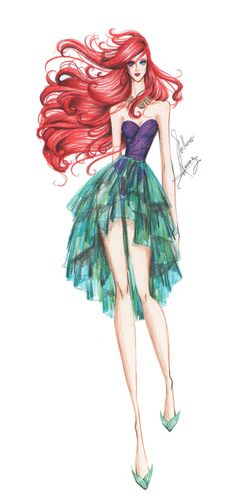 Ariel | The Little Mermaid | Chiffon Collection | frozen-winter-prince