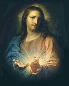 Pompeo Batoni (1708-1787): Sagrado Corazón de Jesús.
