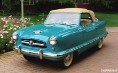 1954 Nash Metropolitan Convertible..Re-pin...Brought to you by #HouseofInsurance for #CarInsurance #EugeneOregon