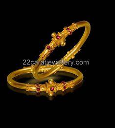 Antique Designer Baby Bangles   Jewellery Designs