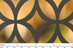 Fused Graphite with Sandstone finish shown in Lotus Screen pattern