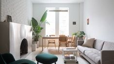 BoND turns dark, divided Chelsea apartment into light-filled home