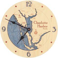 Charlotte Harbor - Clock