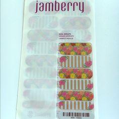 Jamberry New Waikiki Nail Wraps