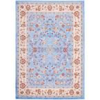 Miami Bijar Classic Traditional Oriental Blue 8 ft. 2 in. x 9 ft. 10 in. Area Rug