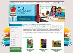 Milo Educational Books- This website has extensive programming and a custom ecommerce content management system.It was also custom designed with the latest in CSS, PHP and JavaScript. #ecommerce #MiloEducationalBooks #educationalbooks #HyperlinksMedia
