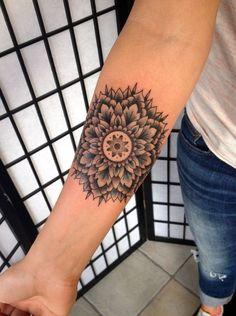 Insanely Deep and Positive lotus mandala Tattoo Arts (7)