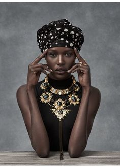 Ajak Deng for MIMCO Accessories by Christian Blanchard