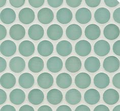Ann Sacks penny tile- can you imagine this tile in an all-white bathroom filled with pink flowers? Gorgeous!