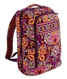 152a869b03 Vera Bradley Laptop Backpack in Safari Sunset  VeraBradley  LaptopBackpack Vera  Bradley Handbags