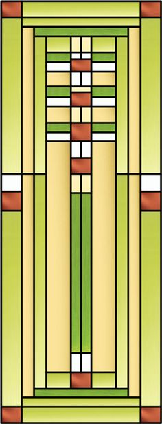 Here is my interpretation of Frank Lloyd Wright's Ennis house which I named Michalek-E Decorative Window Film