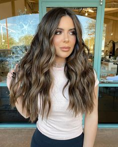 Brown Hair Balayage, Brown Blonde Hair, Hair Color Balayage, Brunette Hair, Hair Highlights, Hair Doctor, Lighter Hair, Dying My Hair, Hair Color And Cut