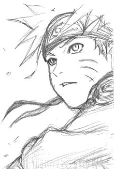 That is a damn good drawing of Naruto.