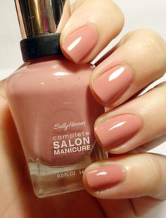 BreezyTheNailPolishLover: Sally Hansen Complete Salon Manicure Swatches/Review Pink Pong; I want!