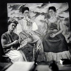 The Two Fridas, a painting by Frida Kahlo