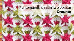¡Un punto muy divertido de tejer a crochet y el resultado es increíble! Lo mejor es que se ve diferente según la forma en que combinen los colores... en el v...