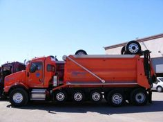 Kenworth Extended Cab T800 Super 18 Dump Truck. 80,000lb Gross, 25+ ton payload.