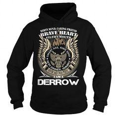 Awesome Tee DERROW Last Name, Surname TShirt v1 T shirts